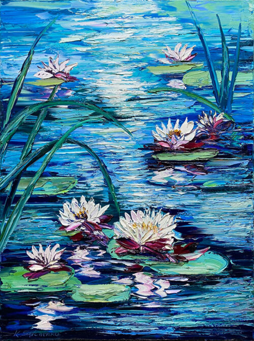 Lilly Pad Painting