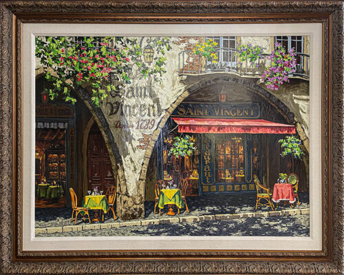 Landscape Painting of Provence