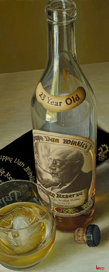 Cool Daddy Wine Bottle Painting