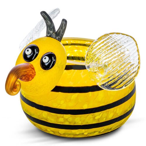 Glass Bowl that looks like a Bee