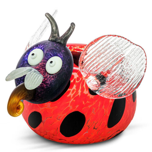Red Lady Bug Bowl